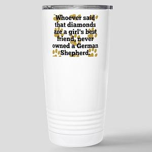 German Shepherds Are A Girls Best Friend Mugs