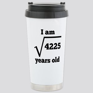 65th Birthday Square Root Mugs