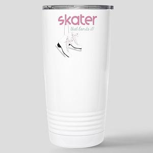 Skater Lands It Travel Mug