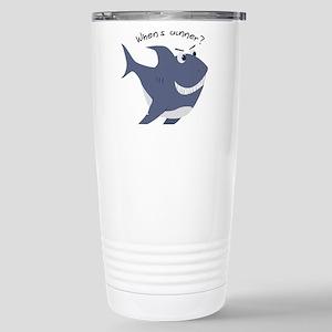 Whens Dinner? Travel Mug