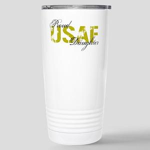 Proud Daughter - USAF Stainless Steel Travel Mug