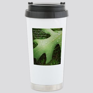 Inspirational Quotation Stainless Steel Travel Mug