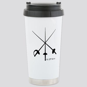 Three Weapon Stainless Steel Travel Mug