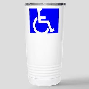 Handicap Sign Travel Mug