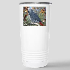 Sunlight on Feathers Stainless Steel Travel Mug