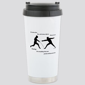 Hit First Stainless Steel Travel Mug