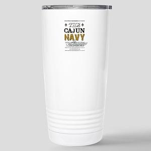 The Cajun Navy Neighbor Stainless Steel Travel Mug
