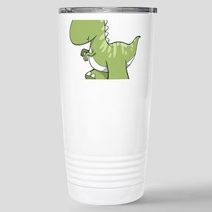 Green Baby Dinosaur Travel Mug