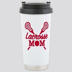 Lacrosse mom Stainless Steel Travel Mug
