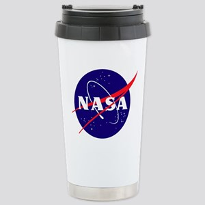 NASA Meatball Logo Stainless Steel Travel Mug