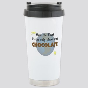 Save the Earth Stainless Steel Travel Mug