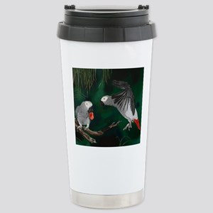 Greys in the Wild Stainless Steel Travel Mug