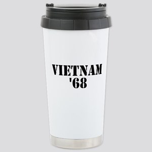 Vietnam 1968 Stainless Steel Travel Mug