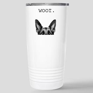 Woof Stainless Steel Travel Mug