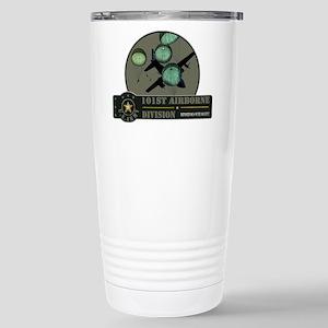 101st Airborne Stainless Steel Travel Mug