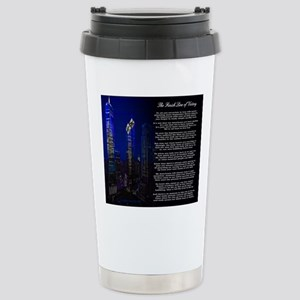 The Finish Line of Vict Stainless Steel Travel Mug