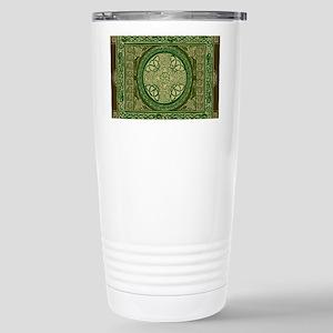 Celtic Blanket Stainless Steel Travel Mug