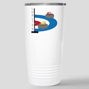 Curling Sport Travel Mug