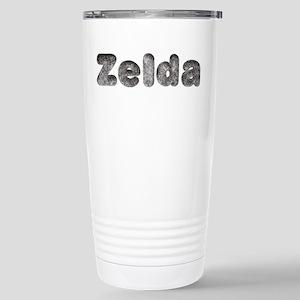 Zelda Wolf Ceramic Travel Mug