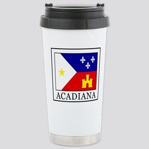 Acadiana Stainless Steel Travel Mug