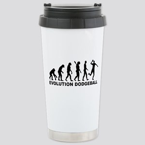 Evolution Dodgeball Stainless Steel Travel Mug