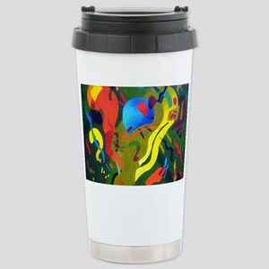 Olive Suspension Stainless Steel Travel Mug