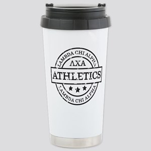 Lambda Chi Alpha 16 oz Stainless Steel Travel Mug
