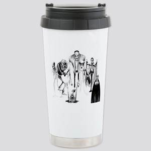 Classic movie monsters Stainless Steel Travel Mug