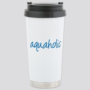 aquaholic - 1 Stainless Steel Travel Mug