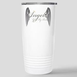 Angels Got My Back Travel Mug