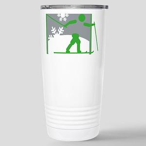 skilanglauf symbol Mugs