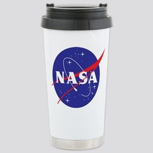 NASA Logo Stainless Steel Travel Mug