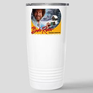 Bob Ross Stainless Steel Travel Mug