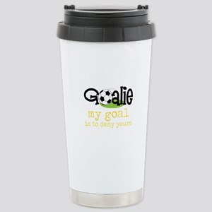 My Goal Is To Deny Yours Travel Mug