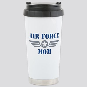 Air Force Mom Stainless Steel Travel Mug