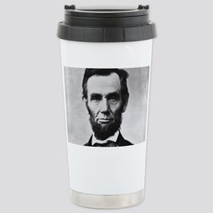 abe lincoln puzzle Stainless Steel Travel Mug