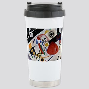 Kandinsky - Red Spot II Stainless Steel Travel Mug
