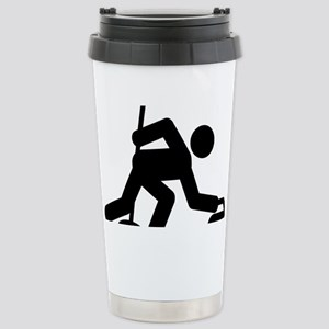 Curling-A Stainless Steel Travel Mug