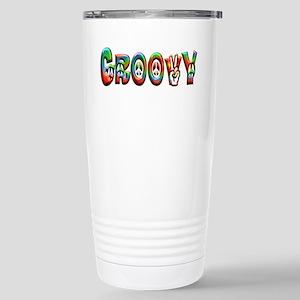 GROOVY Stainless Steel Travel Mug