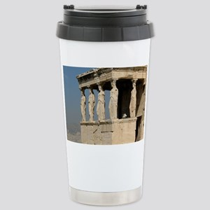 Caryatid_mug Stainless Steel Travel Mug