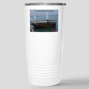 I've Sailed Where Jesus Stainless Steel Travel Mug
