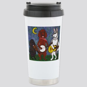 Country Dogs Stainless Steel Travel Mug