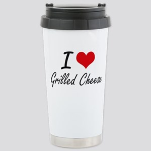 I love Grilled Cheese Stainless Steel Travel Mug