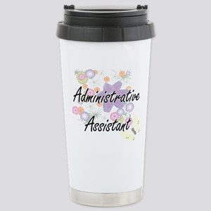 Administrative Assistan Stainless Steel Travel Mug
