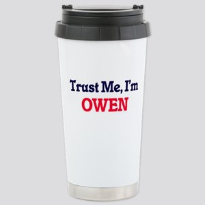 Trust Me, I'm Owen Stainless Steel Travel Mug