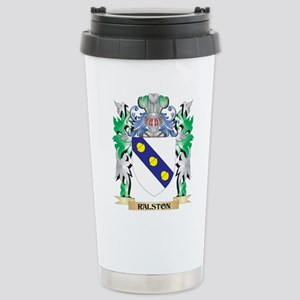 Ralston Coat of Arms - Stainless Steel Travel Mug