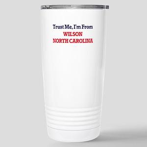 Trust Me, I'm from Wils Stainless Steel Travel Mug