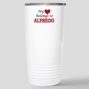 My heart belongs to Alf Stainless Steel Travel Mug