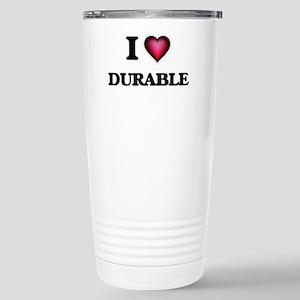 I love Durable Stainless Steel Travel Mug