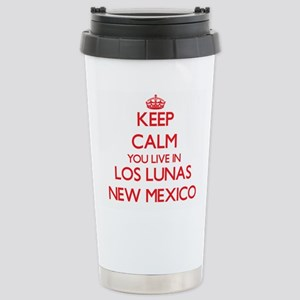 Keep calm you live in L Stainless Steel Travel Mug